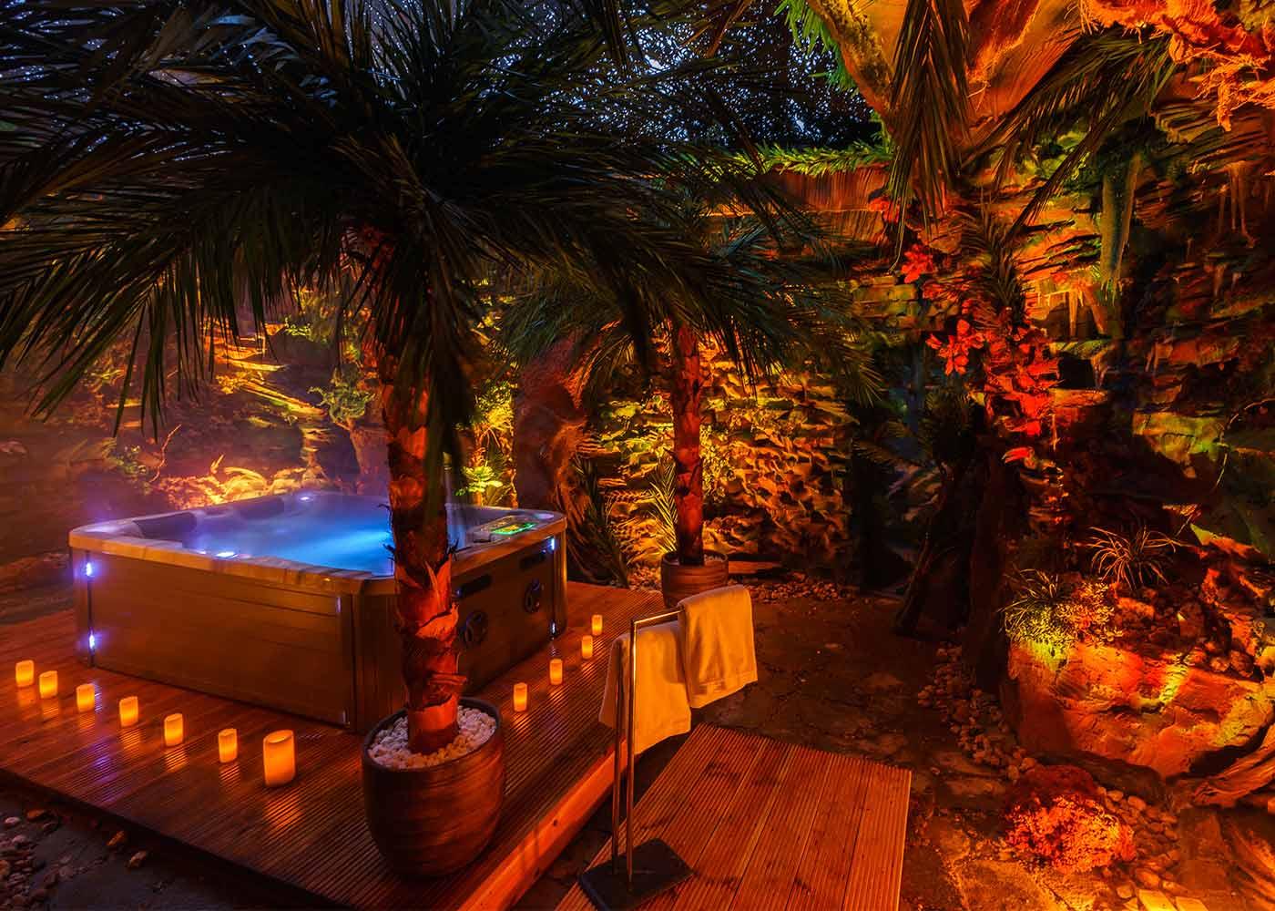 Premium Deluxe Suite Dschungel Außenbereich