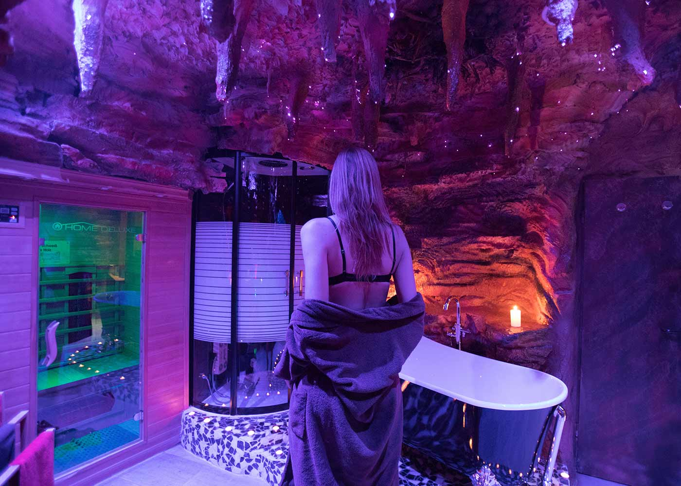 Premium Deluxe Suite Tropfsteinhöhle Wellness