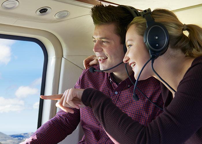 Helikopter Service Erlebnis Suiten
