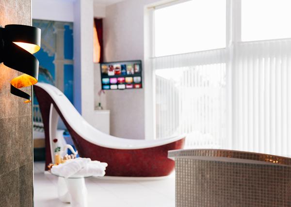 Erlebnis Suite design Badewanne