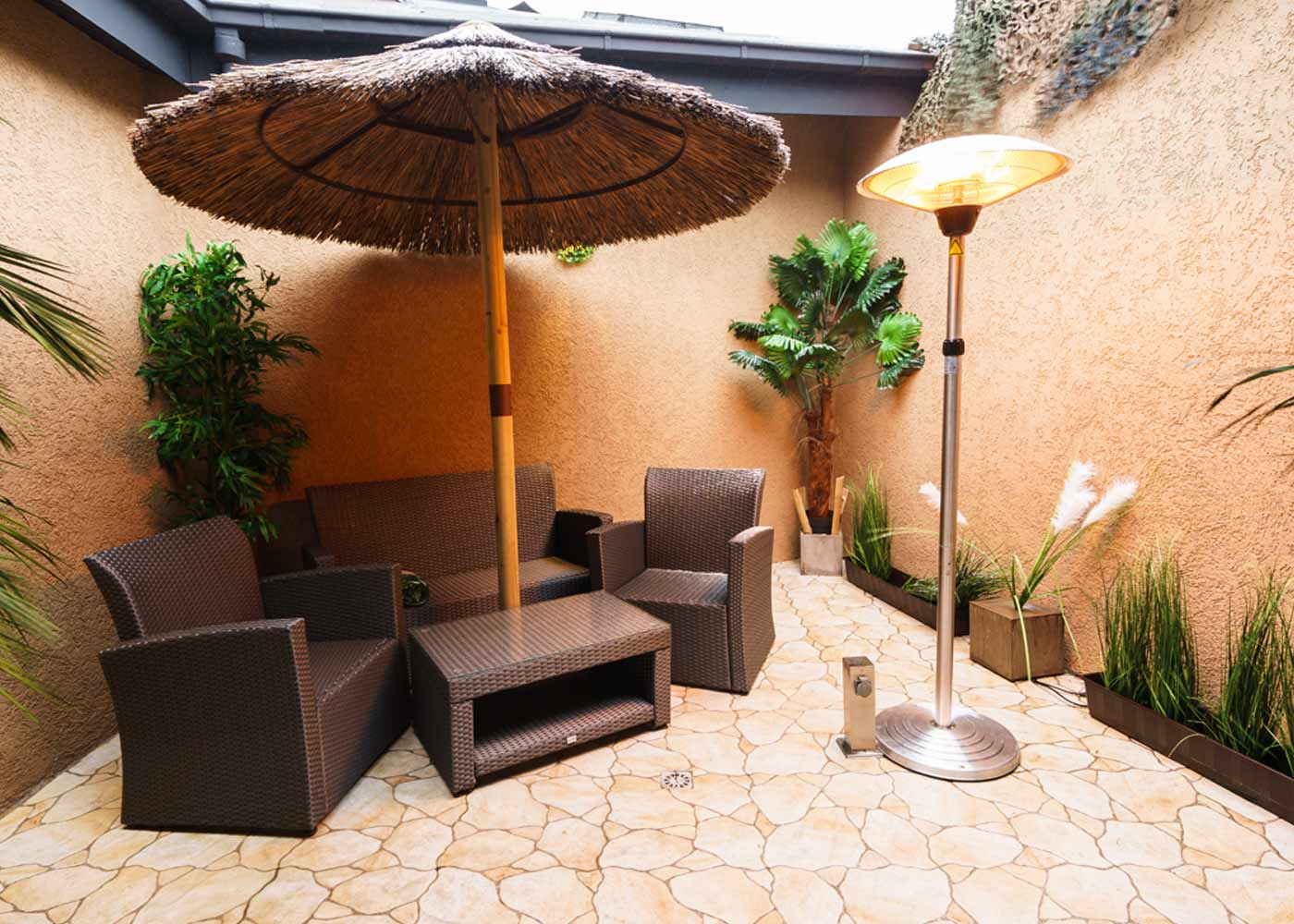beheizte Terrasse Premium Suite