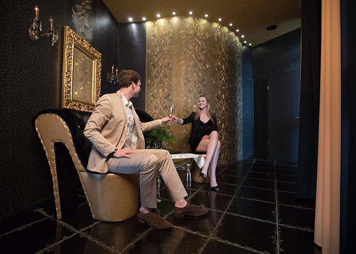 Champagner Empfang Erlebnis Suiten