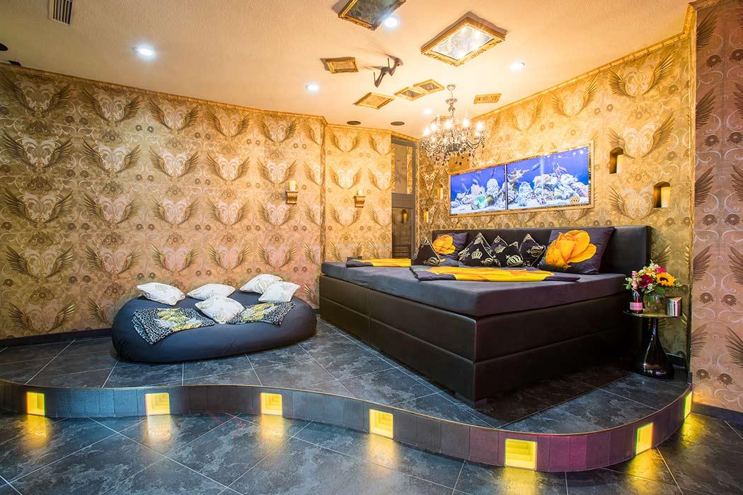 grosser Wohnraum Diamond Suite