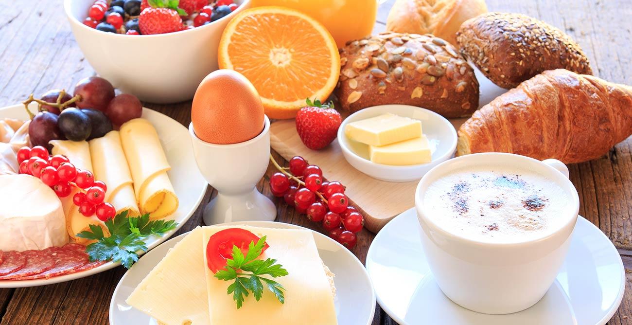 Frühstück serviert in der Erlebnis Suite