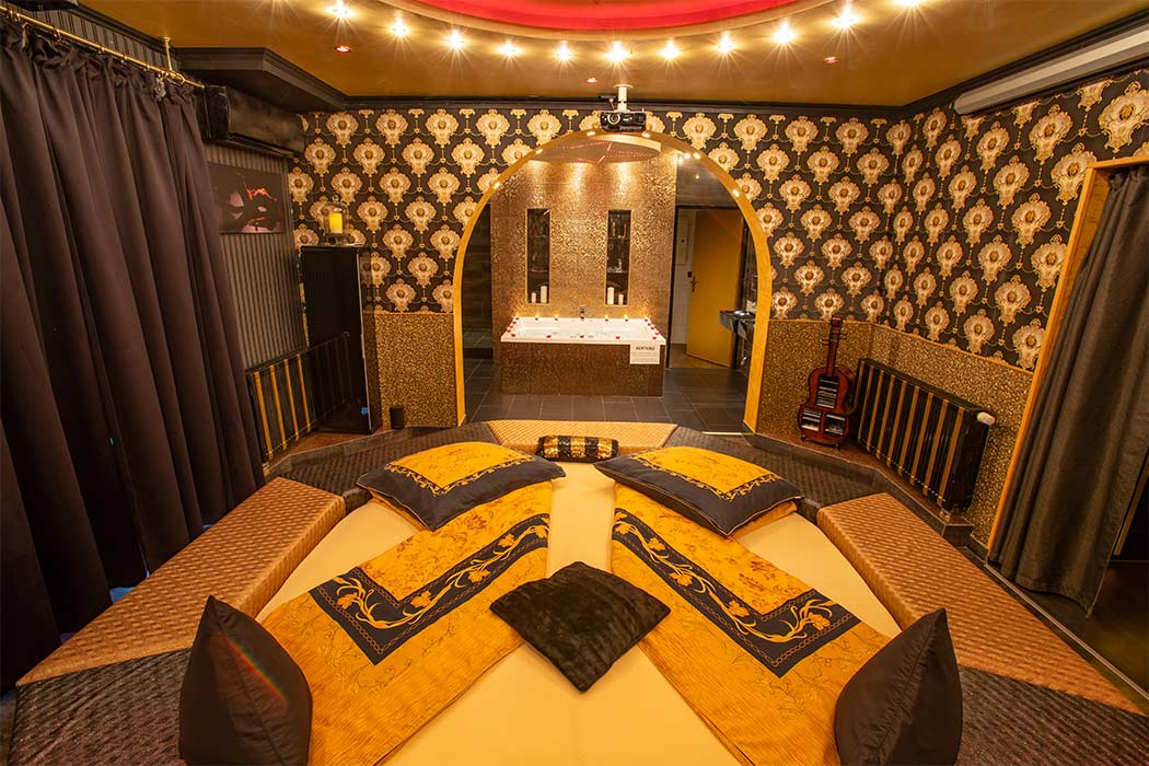 Traumnacht orientalisches Zimmer